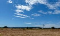 Blue sky over Shirlett