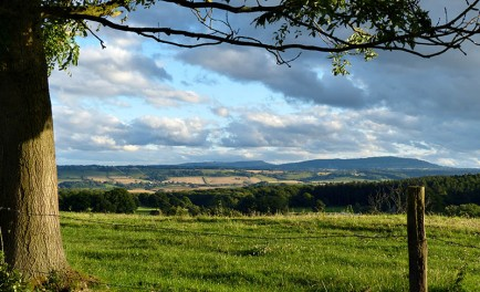 The wide view: Clee hills