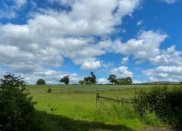 Corvedale cloudscape