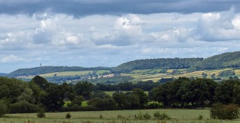 ... the Wenlock Edge ...