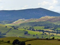 South Stiperstones and Corndon