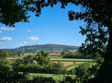 Brown Clee - a view from the old road