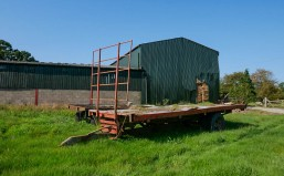 Farm and trailer
