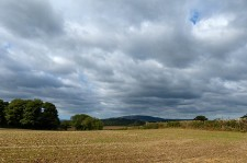 Dark skies over the Wrekin