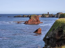 The coast and the castle