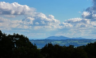 In the other direction - the Malverns