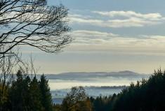 Misty east