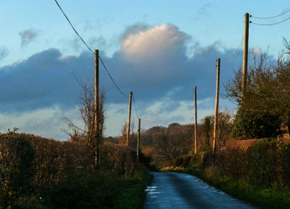 ... and the lane to Wyke