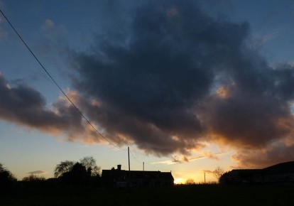 Wyke sunset