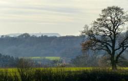 Distant hills - Titterstone Clee