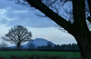 Seeing the Wrekin in a different light