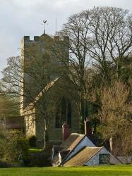 Church and Royal Oak