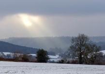 Sunbeams over Willey