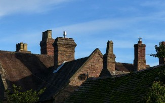 Old Rectory roofscape