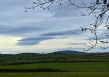 Clouds over the Wrekin