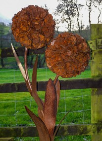 The petals have gone rusty