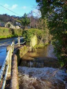 The brook at Bouldon