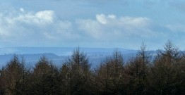 Mid-Wales high ground on the horizon - Radnor Forest