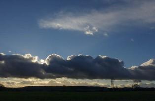 Heavy cloud over Shirlett