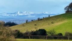 Snow on the Berwyns