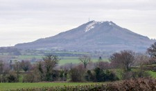 Snow on the Wrekin