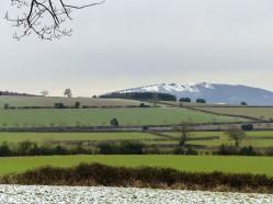 Snow on the Wrekin