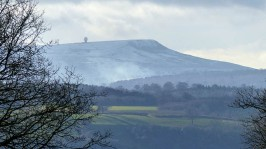 ... and Titterstone Clee