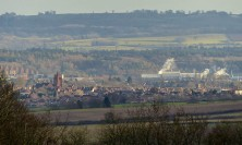 A view to Bridgnorth, four miles away