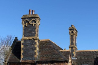 Broseley chimneys