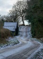 A cold road