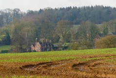 Muddy fields at Willey