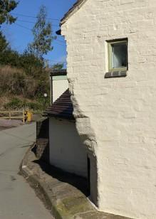 An unusual corner