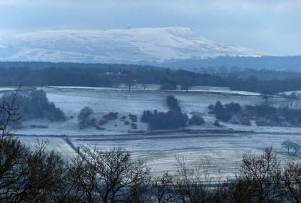 Titterstone snowfields
