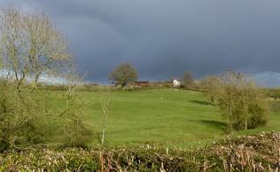 Dark sky over the Inett
