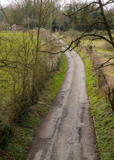 The lane to the dingle