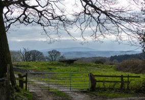 Gateway to Brown Clee