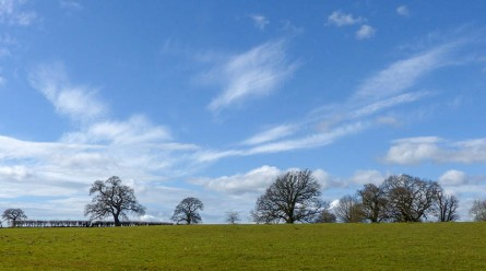 Barrow skyscape