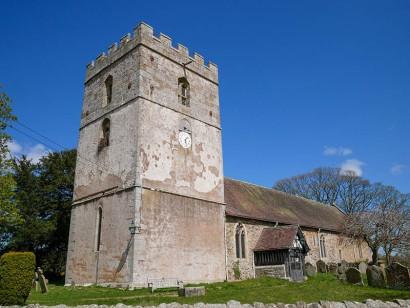 Cardington church - as seen from the village hall car park