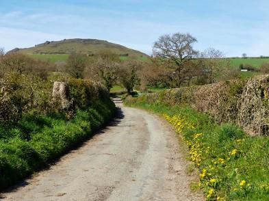 Willstone Lane - and Caer Caradoc