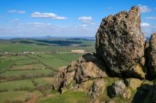 Battle Stones - Wrekin view
