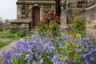 Floral churchyard