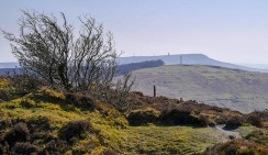 Clee Burf and Titterstone Clee