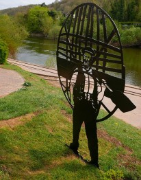 Tommy Rogers, coracle man