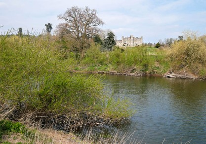 Apley Hall - the east bank
