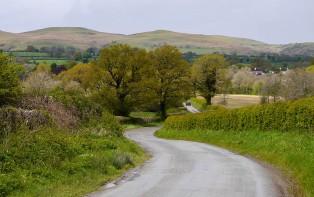 Look back to Hope Bowdler hills