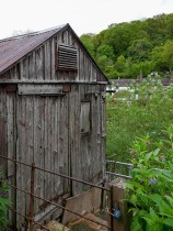 Coracle shed
