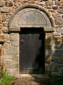An ancient entrance