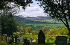 Churchyard view