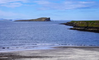 Flodigarry and Staffin islands and the beach