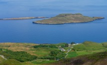 Closer look at Flodigarry Island